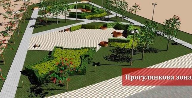 Створення другої частини скверу по вулиці Тверський тупик в Печерському районі